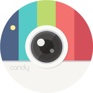 App para Selfies Candy Camera