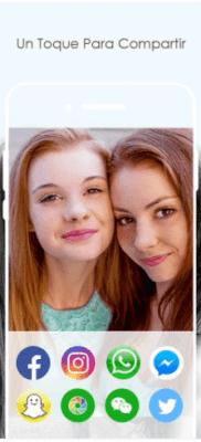 compartir selfies Sweet Selfie