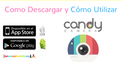 como descargar candy camera para android e ios