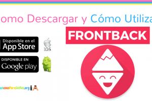 Descargar FrontBack para compartir fotos en Android, iPhone o iPad