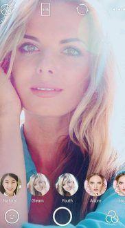 filtro de selfie b612