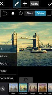 filtros y efectos PicsArt