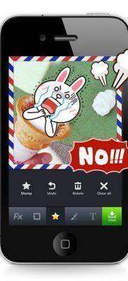 mas stickers y emoticones LINE camera