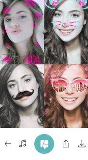 mascaras para selfies b612