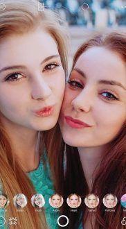 selfies con b612