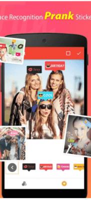 stickers BestMe Selfie Cámara