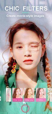 BeautyCam Filtros y efectos