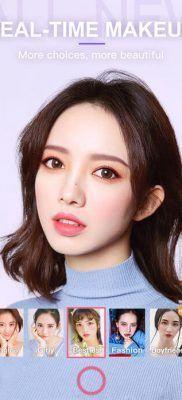BeautyCam editar selfies en tiempo real