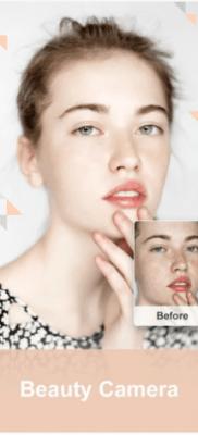Cámara Z camara de belleza embellecimiento automatico