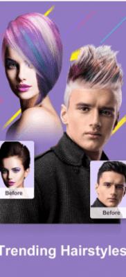 Cámara Z cambiar color de cabello pelo