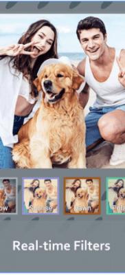 Cámara Z filtros en tiempo real
