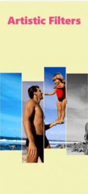 InstaBeauty filtros y collages artisticos