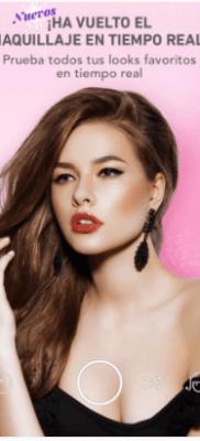 MakeupPlus app maquillaje en tiempo real