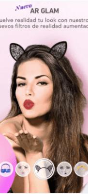 MakeupPlus filtros de realidad aumentada