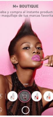 MakeupPlus productos de maquillaje en la app