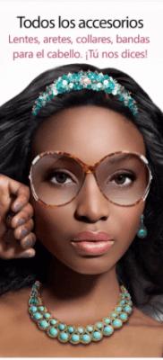YouCam MakeUp accesorios, lentes, aretes,bandas
