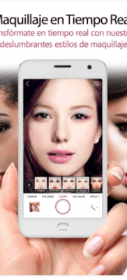 YouCam MakeUp maquillaje en tiempo real