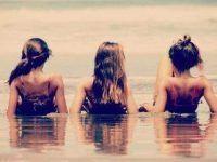 idea foto cinco amigas en playa