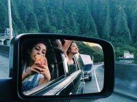 idea foto dos amigas en carro