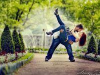 idea foto romantica pareja parque