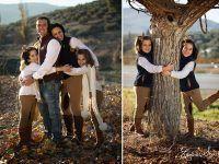 Ideas para Sesión de Fotos en Invierno de familias
