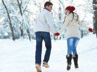 Sesiones de fotos en invierno de Parejas romanticas