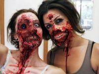amigas disfraz terror halloween
