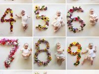 bebita a los 12 meses