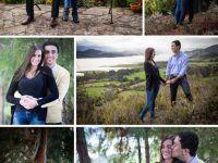 collage de fotos pareja