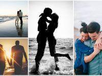collage momentos de una pareja hermosa