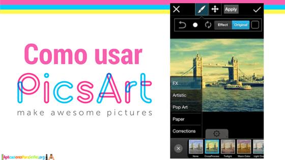 tutorial picsart