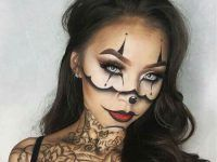 hermoso maquillaje perfecto para fotos de halloween