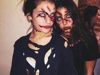 idea amigas halloween fotos