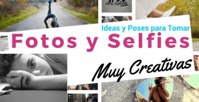 ideas para tomarse fotos creativas