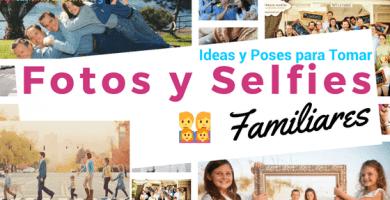 ideas para tomarse fotos en familia
