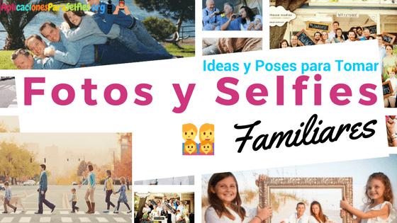 Fotos familiares creativas