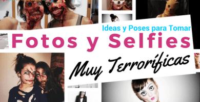ideas para tomar fotos terrorificas en halloween