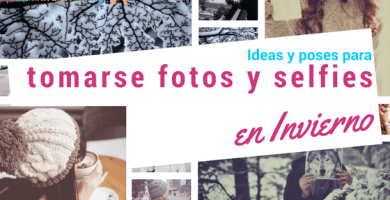 ideas y poses para sesion de fotos en invierno