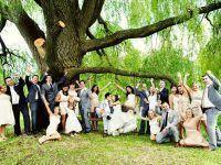 la amilia en la boda
