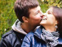 pareja muy enamorada