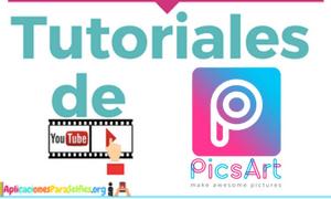 tutoriales para utilizar picsart