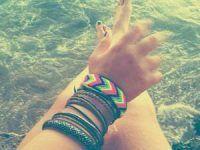 una mano hermosa
