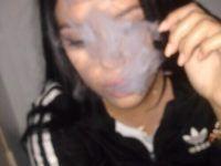 llena de humo