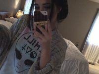 selfie en pijama