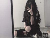 una selfie frente al espejo