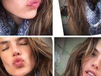 una selfie por cuatro