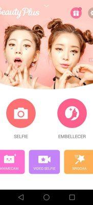 BeautyPlus camara belleza selfies