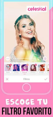 BeautyPlus filtros fotos
